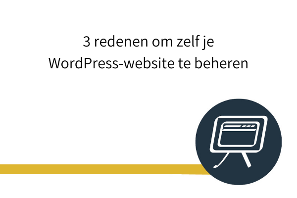 wordpress website beheren