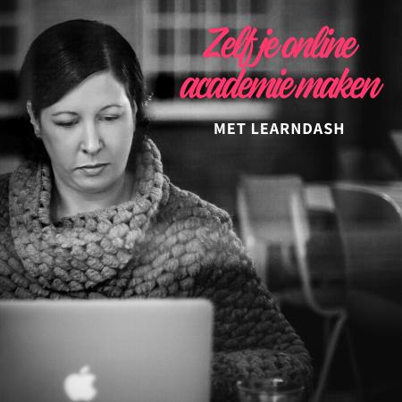 Zelf je online academie maken met Learndash