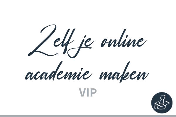 Zelf je online academie maken met Learndash VIP