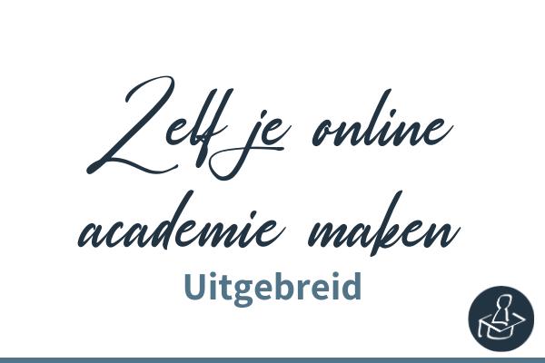 Zelf je online academie maken met Learndash uitgebreid (1)